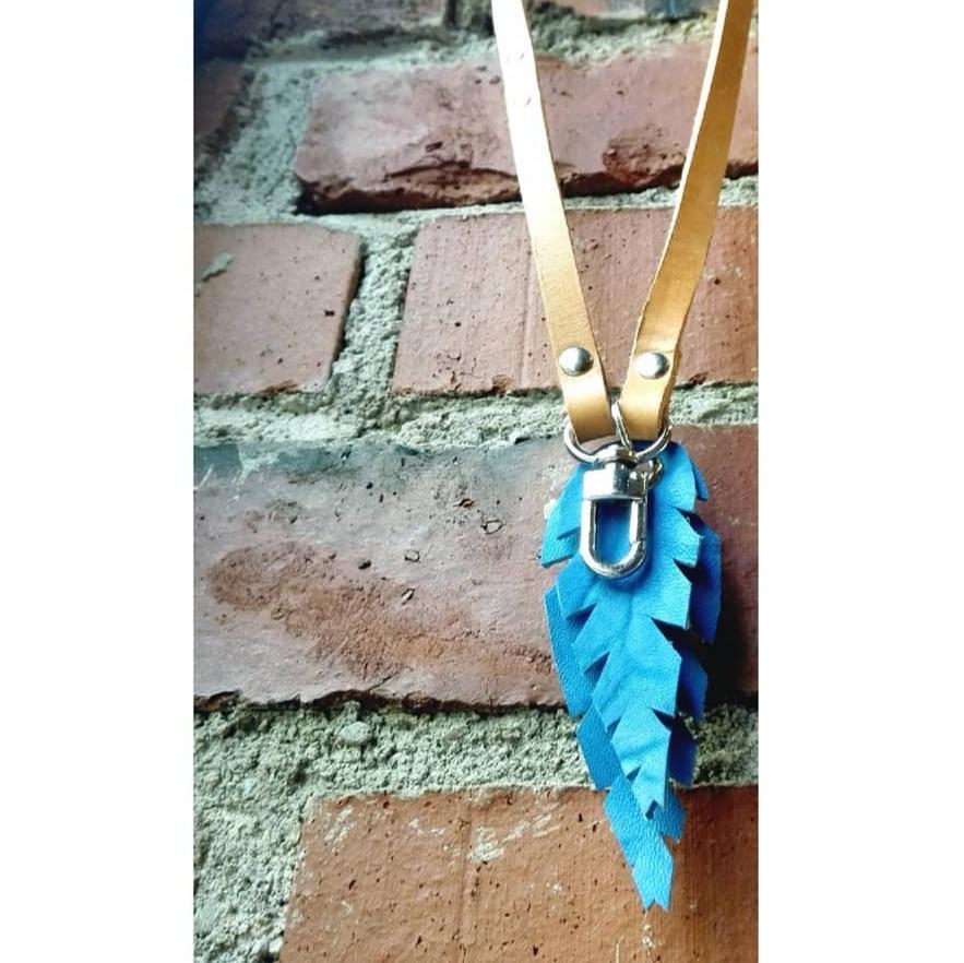 Sinivuokko avainkaulanauha avainnauha