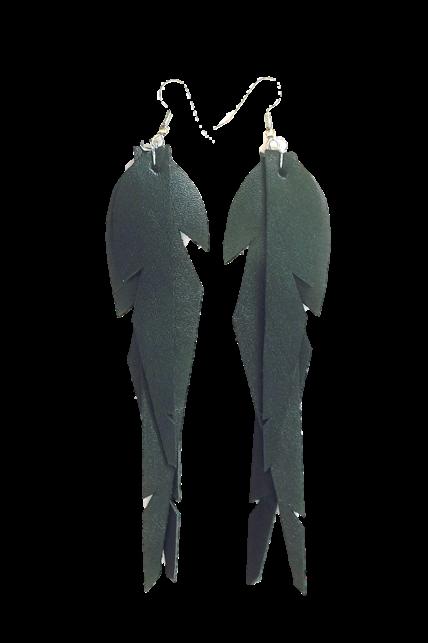 Verso-L-koko-Black-musta-feathers sinivuokko sulkakorut