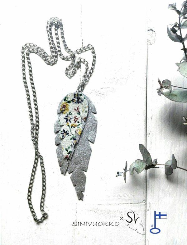 hopea kukka kaulakoru sinivuokko